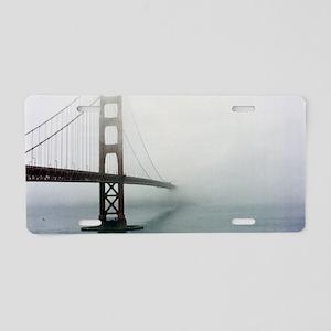Golden gate bridge, San Fra Aluminum License Plate