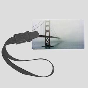 Golden gate bridge, San Francisc Large Luggage Tag