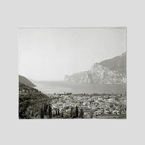 Lake Garda, Italy Throw Blanket