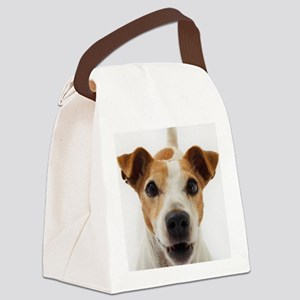 Jack Russell Terrier Canvas Lunch Bag