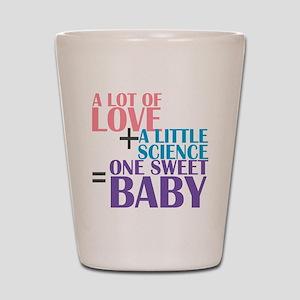 IVF Baby Shot Glass
