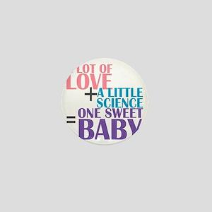 IVF Baby Mini Button
