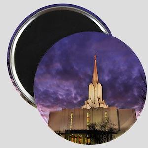 Jordan River Utah LDS (Mormon) Temple, US. Magnet