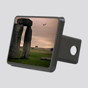 Picture of bird flying pas Rectangular Hitch Cover