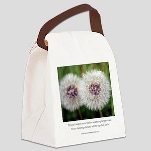 Dandylion Card Canvas Lunch Bag