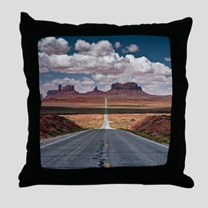 Monument Valley. Throw Pillow