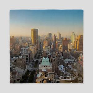 New York City, Manhattan, Midtown, Par Queen Duvet