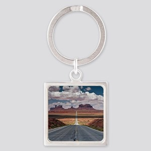 Monument Valley. Square Keychain