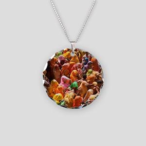 Mathura-Vrindavan - the esse Necklace Circle Charm