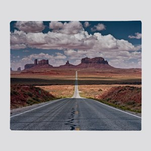 Monument Valley. Throw Blanket