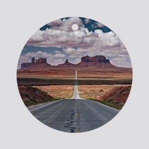 Monument Valley. Round Ornament