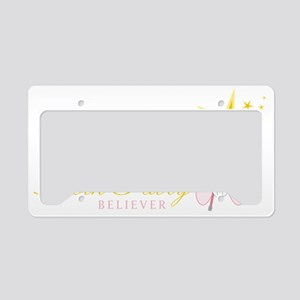 Tooth Fairy Believer License Plate Holder