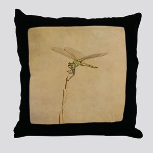 Resting on a beach dune plant. In the Throw Pillow