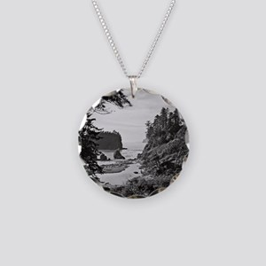 Ruby Beach, Olympic National Necklace Circle Charm