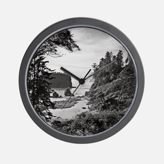 Ruby Beach, Olympic National Park, Wash Wall Clock