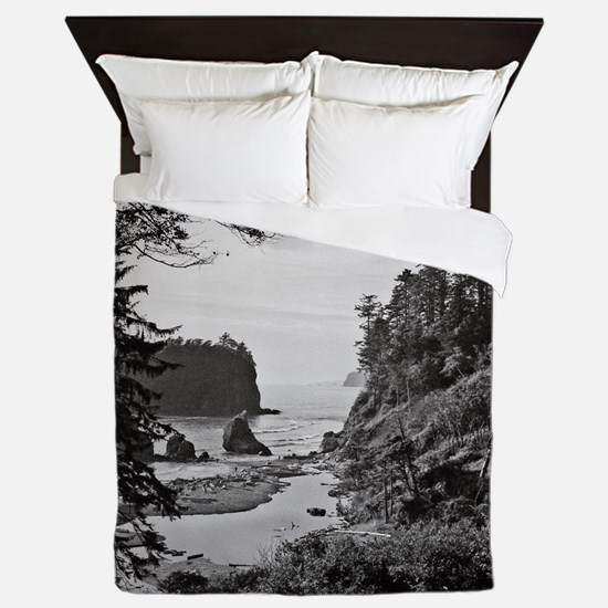 Ruby Beach, Olympic National Park, Was Queen Duvet