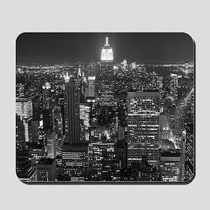 New York City at Night. Mousepad