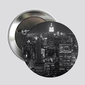 """New York City at Night. 2.25"""" Button"""