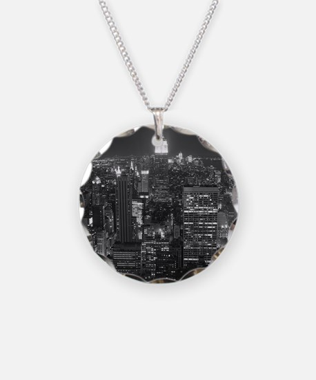 New York City at Night. Necklace