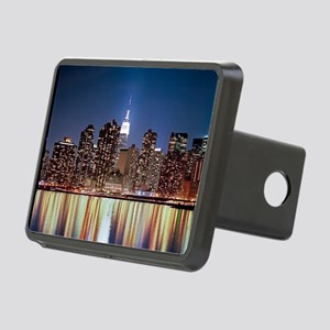 Reflection of skyline at n Rectangular Hitch Cover