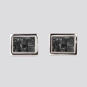 New York City at Night. Cufflinks