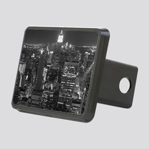 New York City at Night. Rectangular Hitch Cover