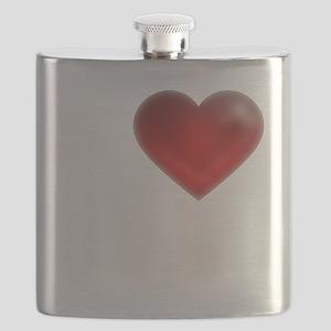 I Heart Grand Cayman Flask