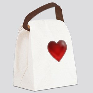 I Heart Grand Cayman Canvas Lunch Bag