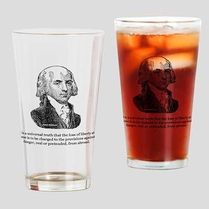 Unisersal Truth Black Drinking Glass