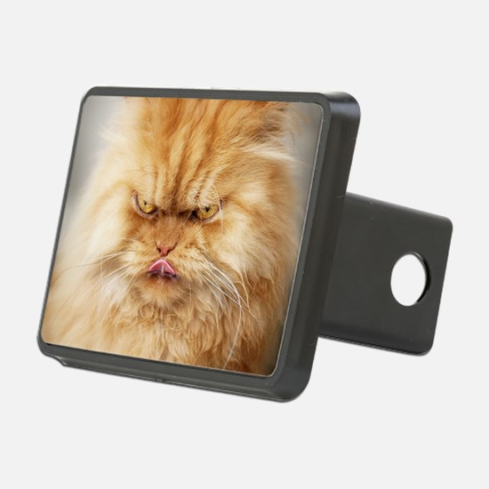 Persian cat looking angril Hitch Cover