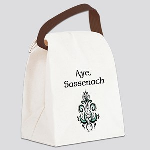 Aye Sassenach Canvas Lunch Bag