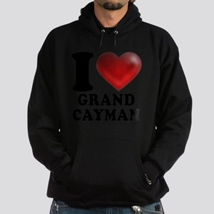 I Heart Grand Cayman Hoodie (dark)