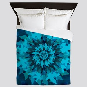 The Dove: Universal symbol of hope Queen Duvet