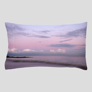 Serene coastal scene at dusk, Suffolk. Pillow Case
