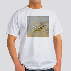 Two gulls flying in evening light ag Light T-Shirt