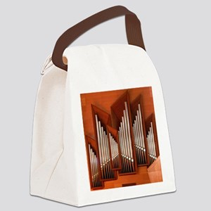 View of right section of organ of Canvas Lunch Bag