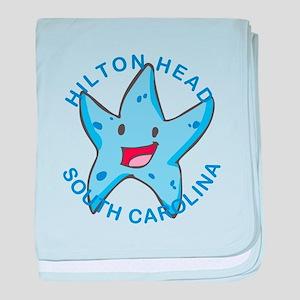 South Carolina - Hilton Head Island baby blanket