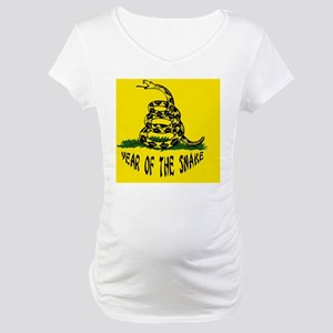 dont-yr-snake-BUT Maternity T-Shirt