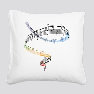 The music is based on Fanatai Square Canvas Pillow