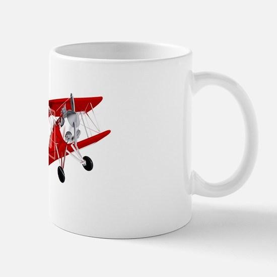 red biplane Mug