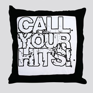 Call Your Hits - Airsoft Throw Pillow
