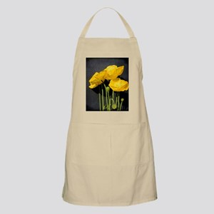 Vibrant, zesty living Iceland poppies in the Apron