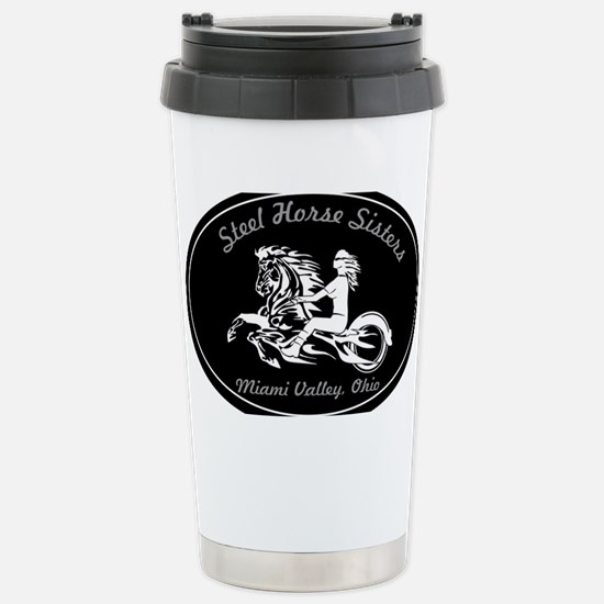 Steel Horse Sisters Stainless Steel Travel Mug