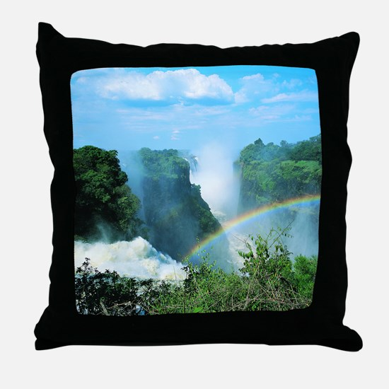 Victoria Falls, Zimbabwe Throw Pillow