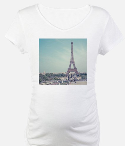 Two love birds with view of Eiff Shirt
