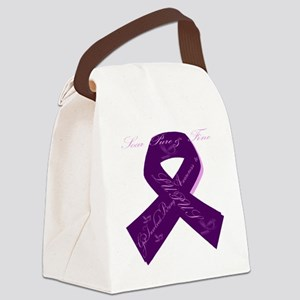 Lupus Ribbon Canvas Lunch Bag
