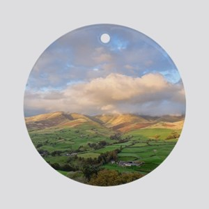 Yorkshire Dales National Park north Round Ornament