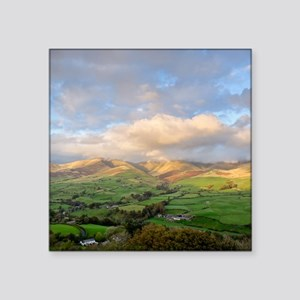 "Yorkshire Dales National Pa Square Sticker 3"" x 3"""