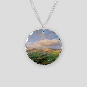 Yorkshire Dales National Par Necklace Circle Charm
