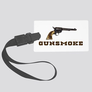 Gunsmoke Luggage Tag